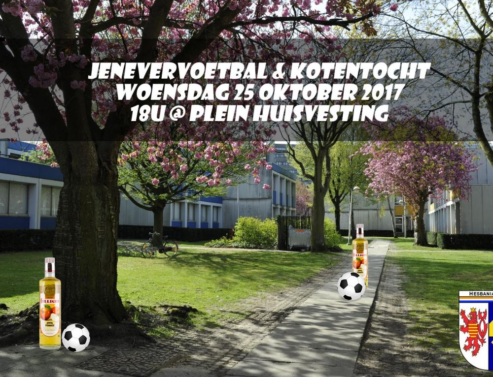 Jenevervoetbal & Kotentocht